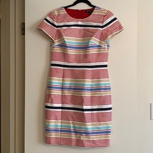 Brooks brothers striped dress- new without tag